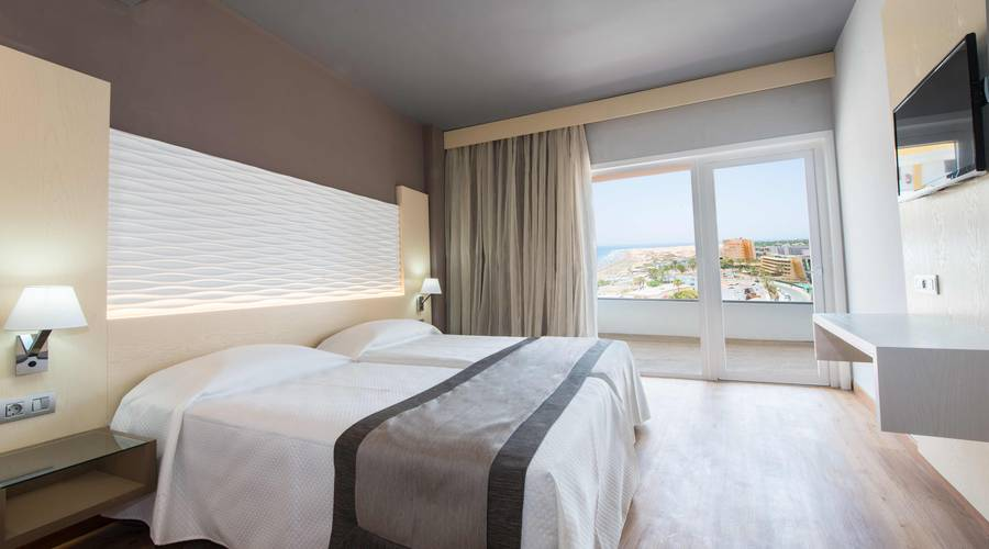 Double Sea View HL Suitehotel Playa del Ingles**** Hotel in Gran Canaria