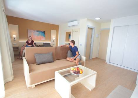 JUNIOR SUITE WITHOUT JACUZZI HL Suite Nardos Hotel in Gran Canaria