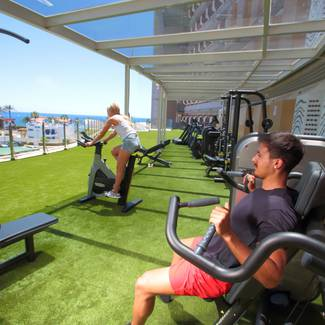 FITNESS CENTRE/GYM HL Suite Nardos Hotel in Gran Canaria